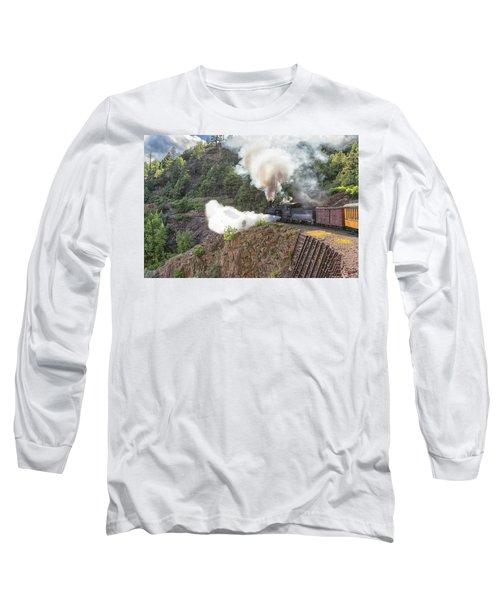 Blowing Down 481 Long Sleeve T-Shirt