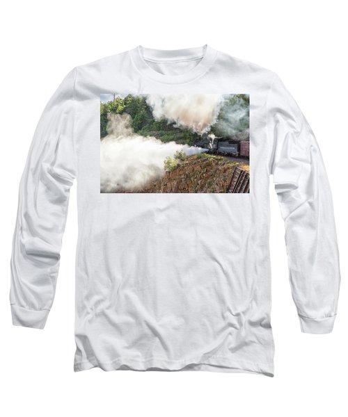 Blowing Off Steam Long Sleeve T-Shirt