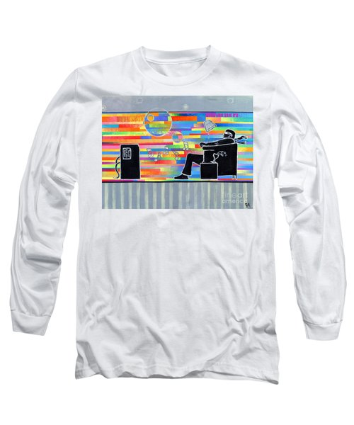 Blown Away Jeremy Style Long Sleeve T-Shirt