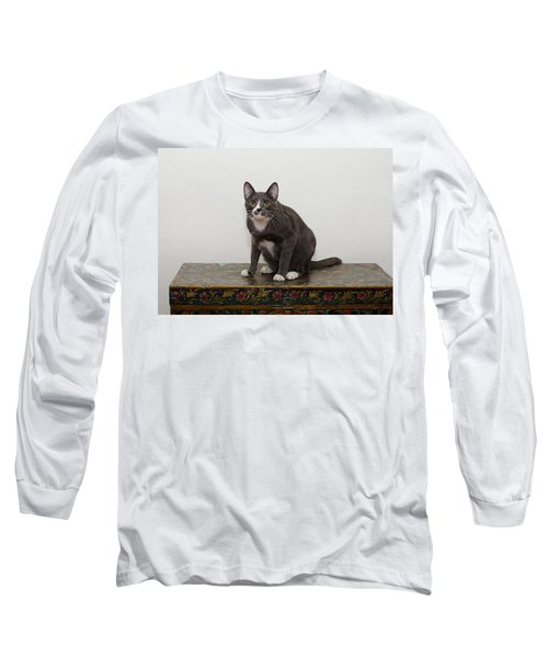 Blue 1 Long Sleeve T-Shirt