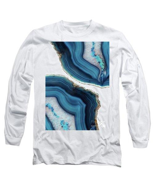 Blue Agate Long Sleeve T-Shirt