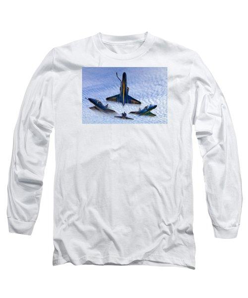 Blue Angels V.2 Long Sleeve T-Shirt