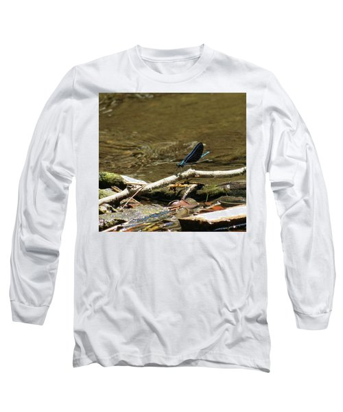 Blue Beauty Long Sleeve T-Shirt