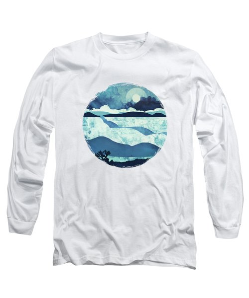 Blue Desert Long Sleeve T-Shirt by Spacefrog Designs