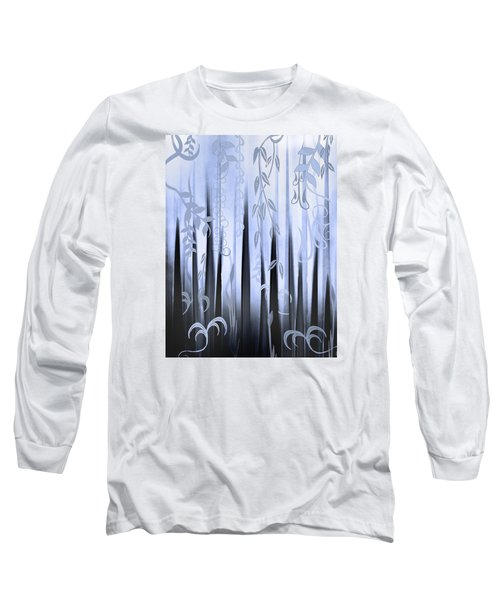 Blue Forest Long Sleeve T-Shirt by Deborah Smith