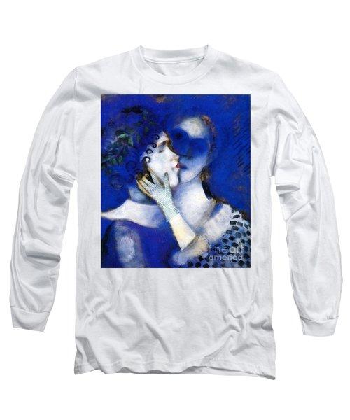 Blue Lovers Long Sleeve T-Shirt