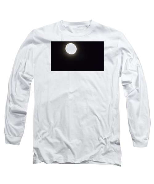 Long Sleeve T-Shirt featuring the photograph Blue Moon In July by Don Koester