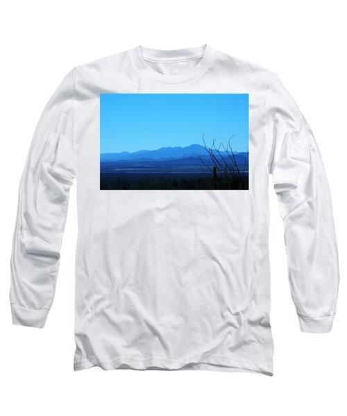 Blue Mountain Long Sleeve T-Shirt