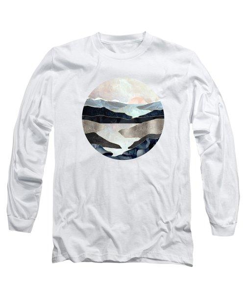 Blue Mountain Lake Long Sleeve T-Shirt