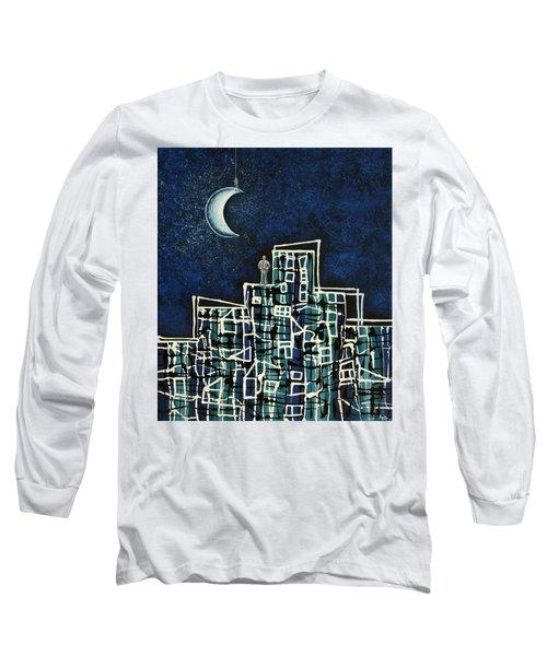 Blue Night Long Sleeve T-Shirt