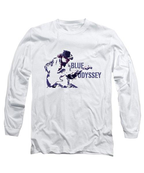 Blue Odyssey Long Sleeve T-Shirt