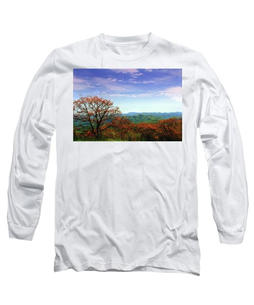 Long Sleeve T-Shirt featuring the photograph Blue Ridge Blessing by Jessica Brawley