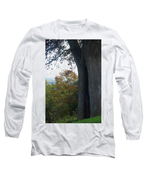 Blue Ridge Parkway Tree Long Sleeve T-Shirt