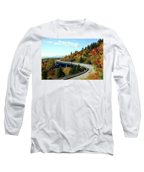 Blue Ridge Parkway Viaduct Long Sleeve T-Shirt