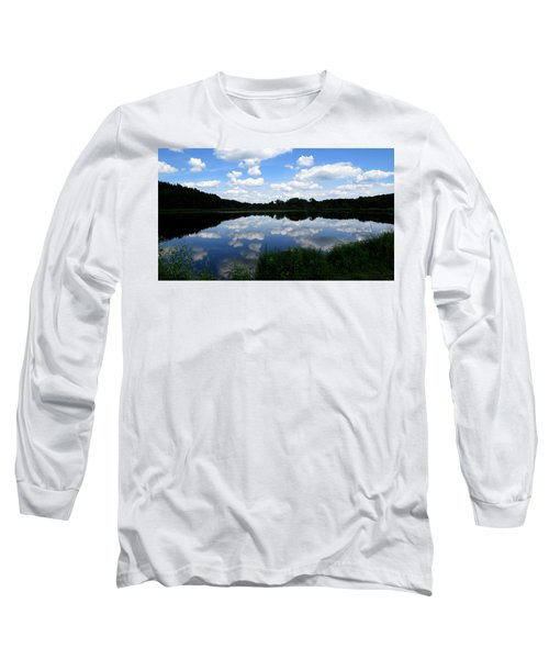 Long Sleeve T-Shirt featuring the photograph Blue Skies At Cadiz Springs by Kimberly Mackowski