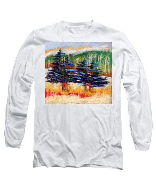 Blue Spruce Stand Long Sleeve T-Shirt