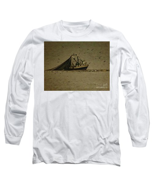 Blue Trawler 2 Long Sleeve T-Shirt