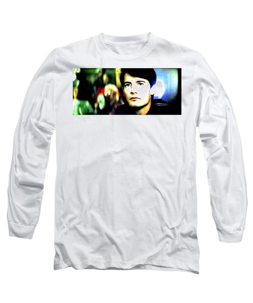 Blue Velvet  Long Sleeve T-Shirt by Luis Ludzska