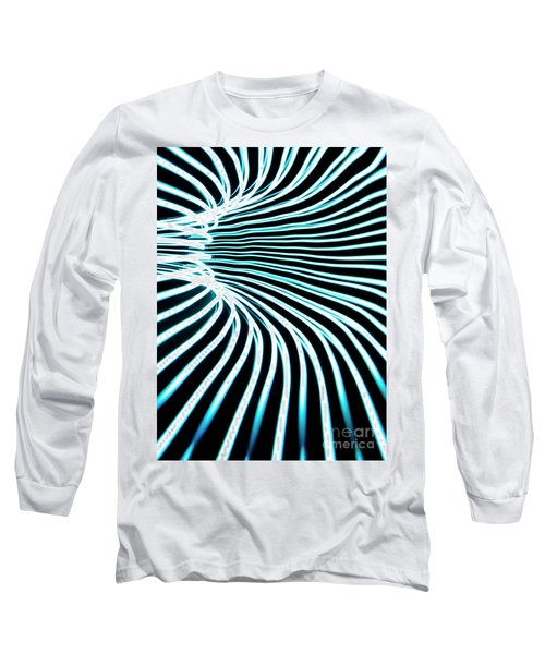 Blue Warp Long Sleeve T-Shirt