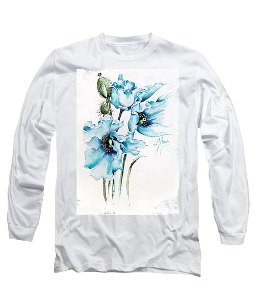 Blue Wind Long Sleeve T-Shirt