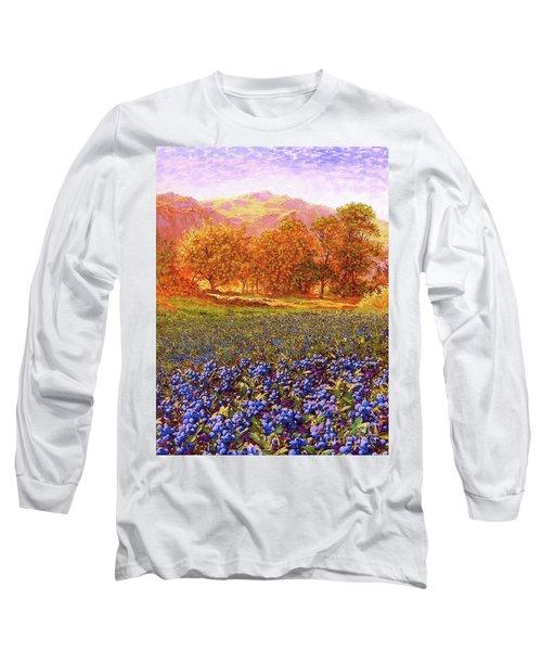 Blueberry Fields Long Sleeve T-Shirt