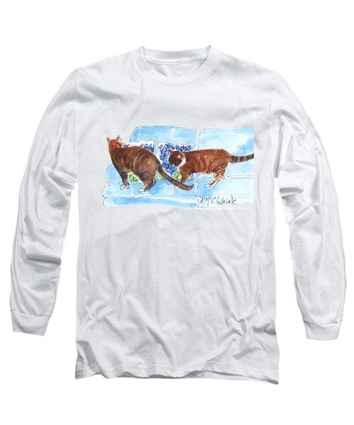 Bluebonnet Pillows Long Sleeve T-Shirt