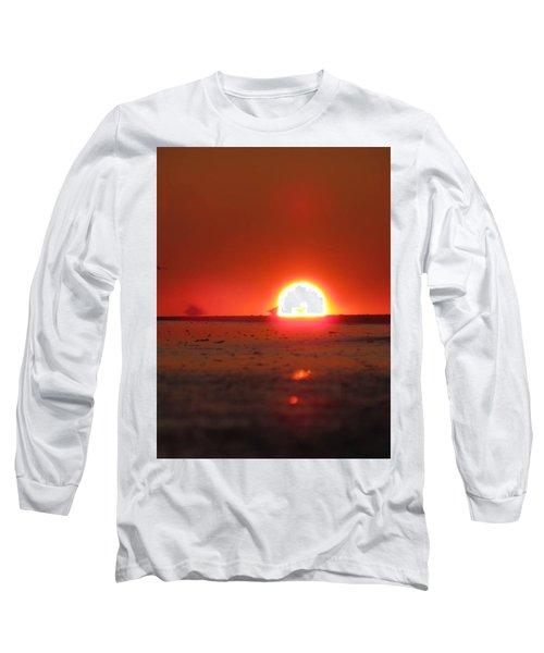 Blurred Lines Long Sleeve T-Shirt