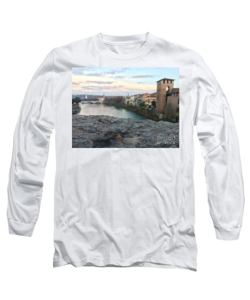 Blurred Verona Long Sleeve T-Shirt