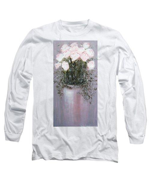 Blush - Original Artwork Long Sleeve T-Shirt