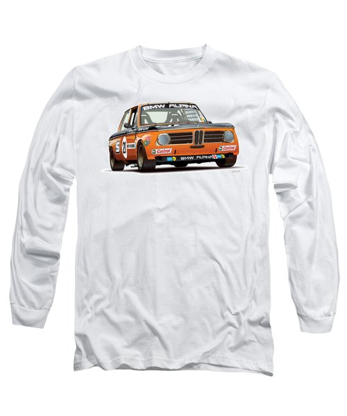 Bmw 2002 Alpina Illustration Long Sleeve T-Shirt