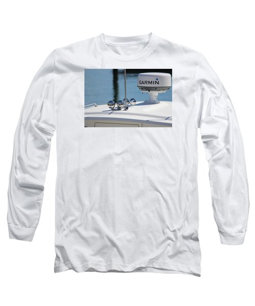 Boat Business Long Sleeve T-Shirt by Jewels Blake Hamrick