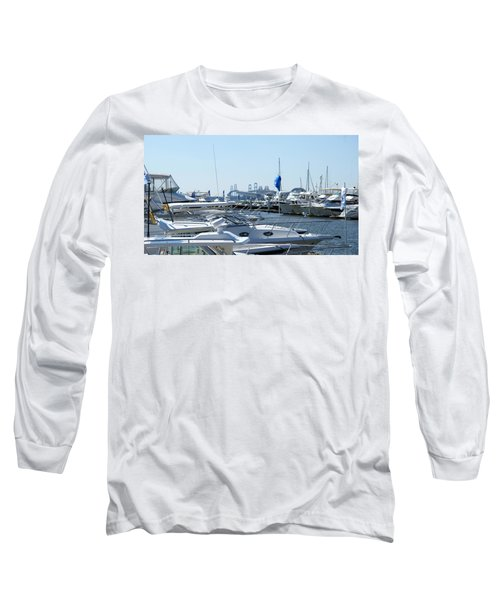 Boat Show On The Bay Long Sleeve T-Shirt