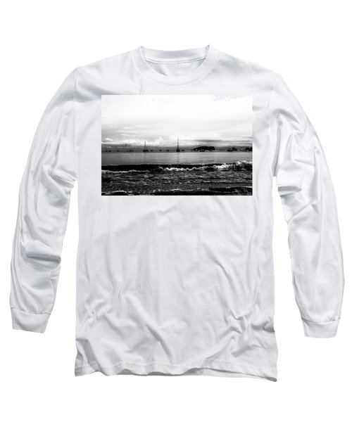 Boats And Clouds Long Sleeve T-Shirt
