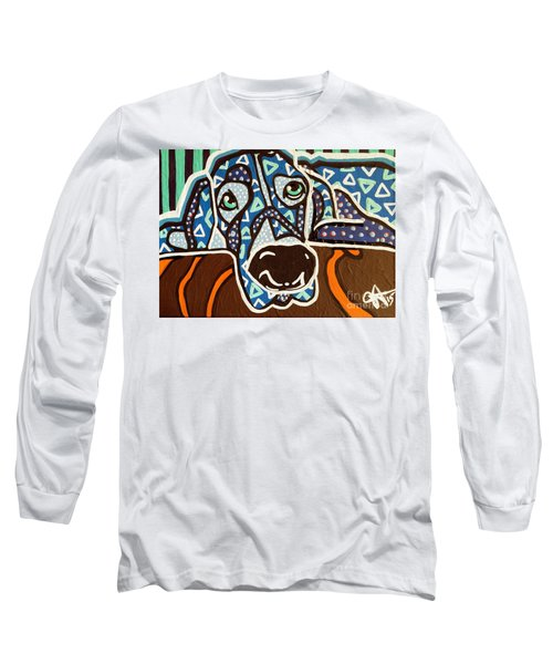 Bobby Blue Eyes Long Sleeve T-Shirt