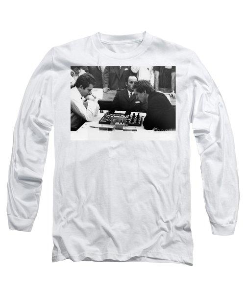 Bobby Fischer (1943-2008) Long Sleeve T-Shirt