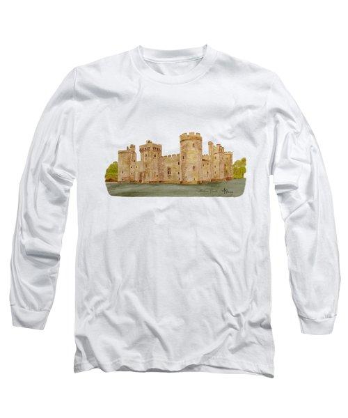 Bodiam Castle Long Sleeve T-Shirt by Angeles M Pomata