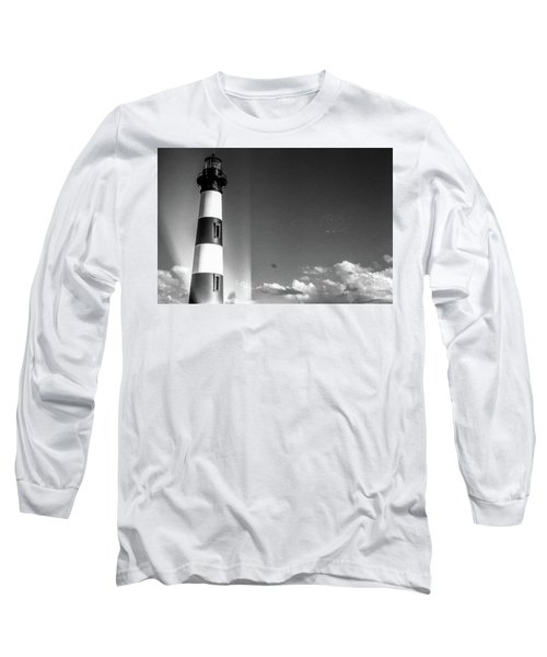 Bodie Island Lighthouse Long Sleeve T-Shirt by David Sutton