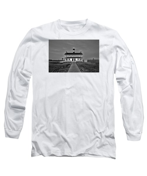 Bodie Lighthouse Night Long Sleeve T-Shirt by Marion Johnson