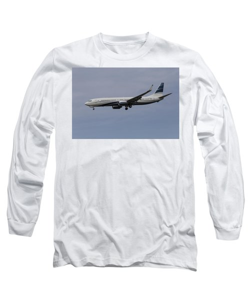 Boeing 737 Private Jet Long Sleeve T-Shirt
