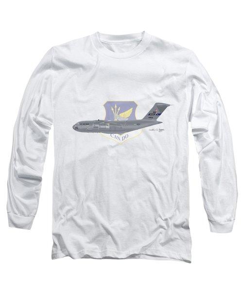 Boeing C-17 Globemaster IIi Mcguire Afb Long Sleeve T-Shirt