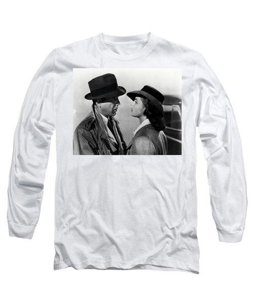 Bogey And Bergman Casablanca  1942 Long Sleeve T-Shirt