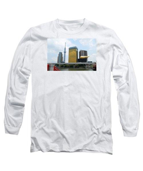 Tokyo Bokutei Dori  Long Sleeve T-Shirt