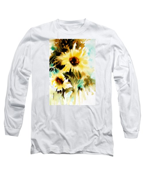 Long Sleeve T-Shirt featuring the painting Bold And Beautiful by Rae Andrews
