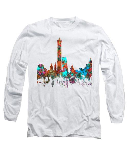 Bologna Italy  Skyline  Long Sleeve T-Shirt by Marlene Watson