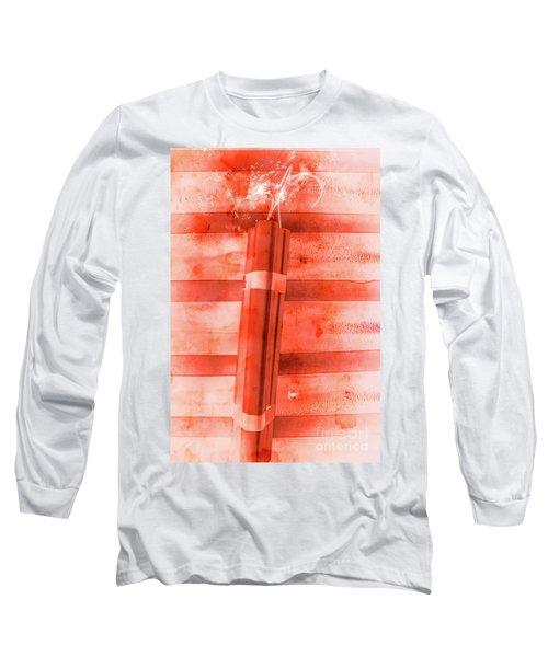 Bomb Of The Betrayal Long Sleeve T-Shirt
