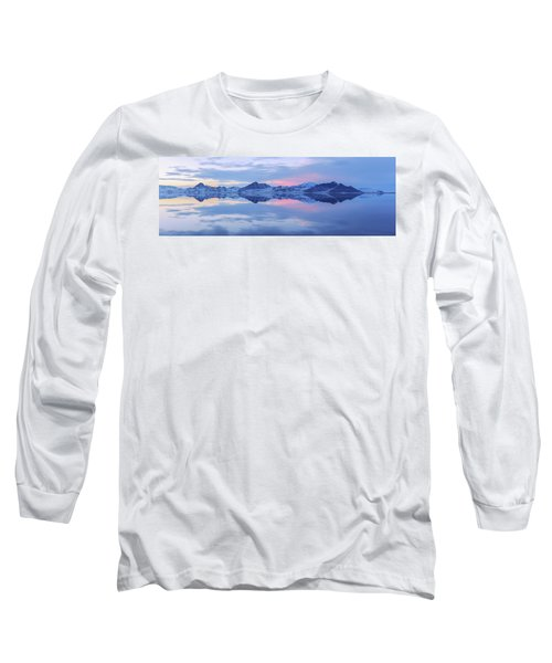 Long Sleeve T-Shirt featuring the photograph Bonneville Lake by Chad Dutson