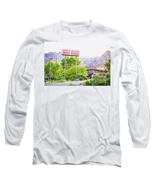 Bonnie Springs Motel Resort Long Sleeve T-Shirt