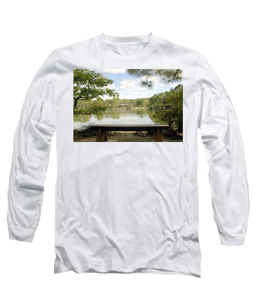 Bonsai Lake Long Sleeve T-Shirt