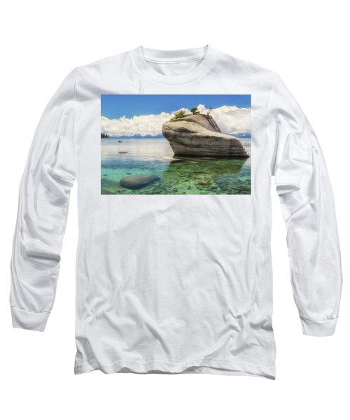 Bonsai Rock Long Sleeve T-Shirt by Marc Crumpler