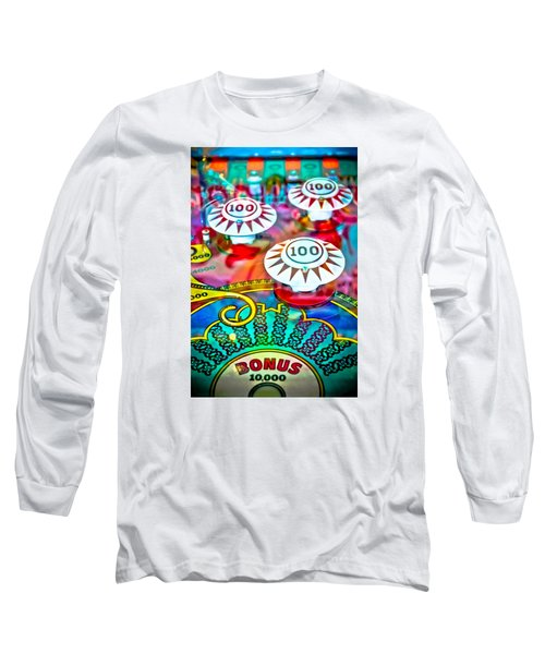 Bonus Points - Pinball Long Sleeve T-Shirt